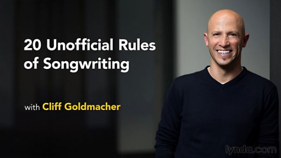Lynda 20 Unofficial Rules of Songwriting TUTORiAL